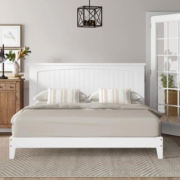 Birch lane white bed frame
