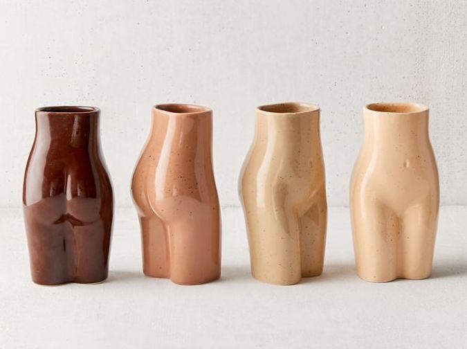 female form vases