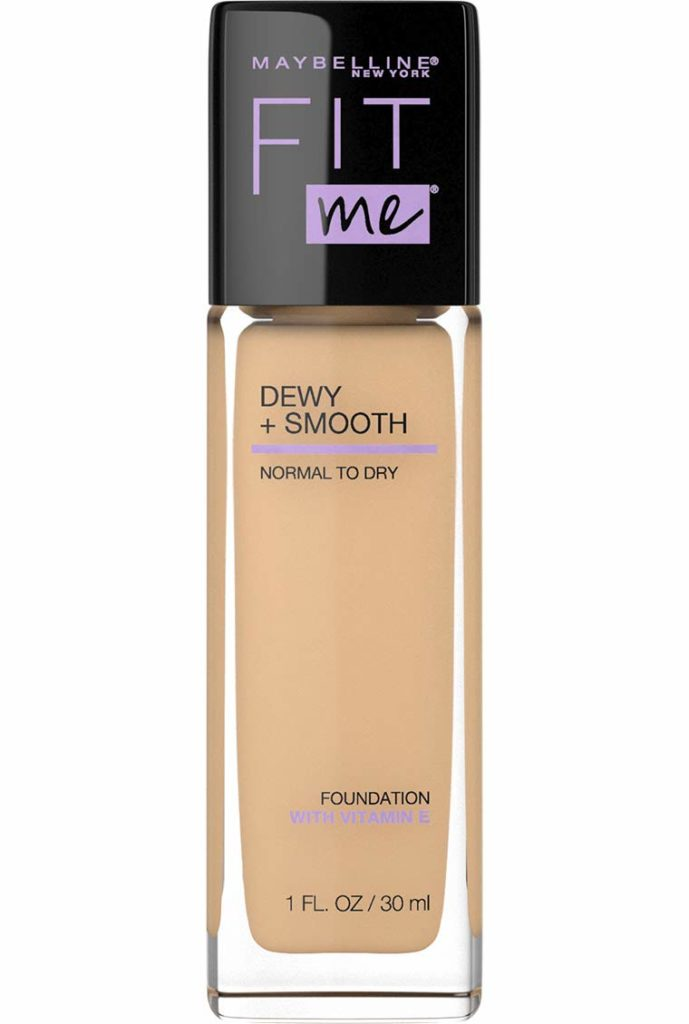 dewy foundation from maybelline