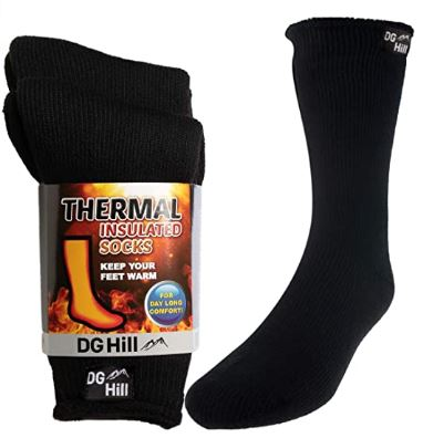 dg hill heated socks