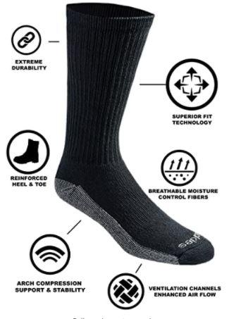best boot socks dickies