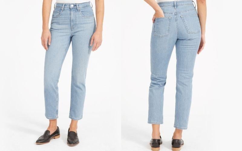 everlane cheeky jeans