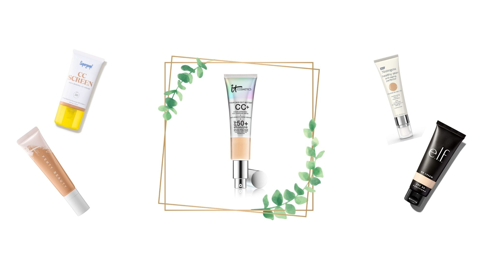 7 It Cosmetics CC Cream Dupes for Dewy, Glowing Skin