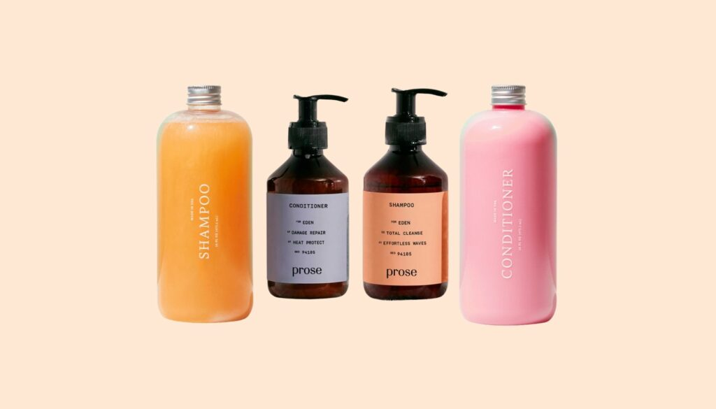 Prose vs. Function of Beauty:Which Custom Shampoo Is Better?