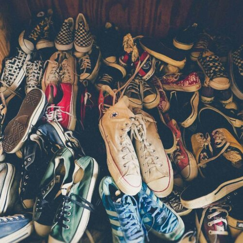 How to Clean + Disinfect Used Shoes from the Thrift Store