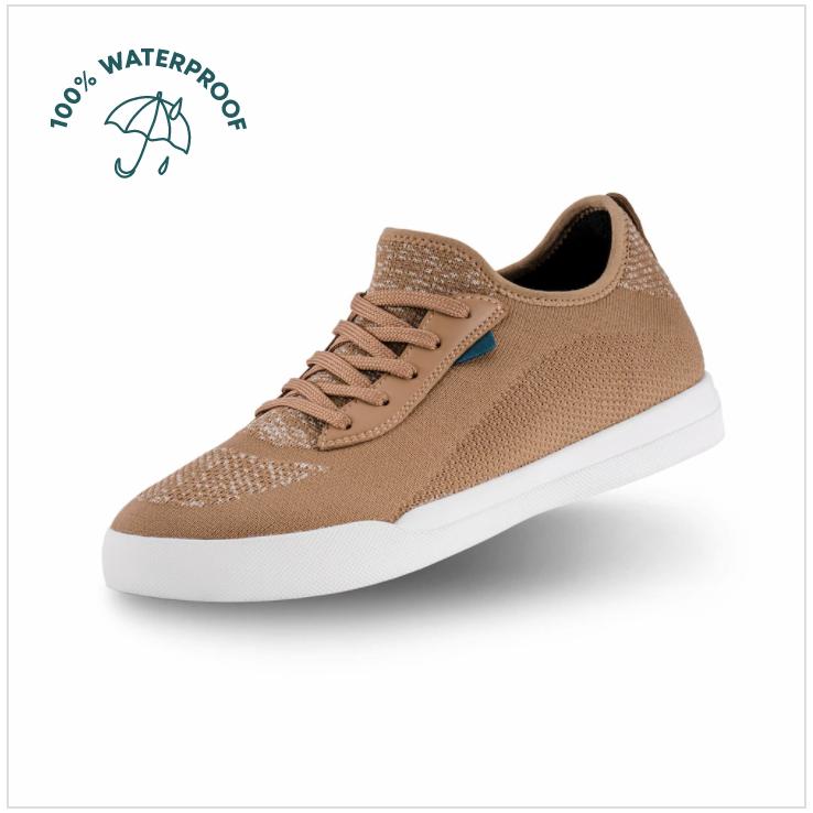 Light Brown Vessi Weekend Sneakers