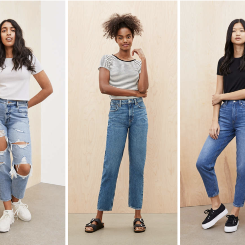 Mom Jeans vs Boyfriend Jeans – May the Best Denim Win