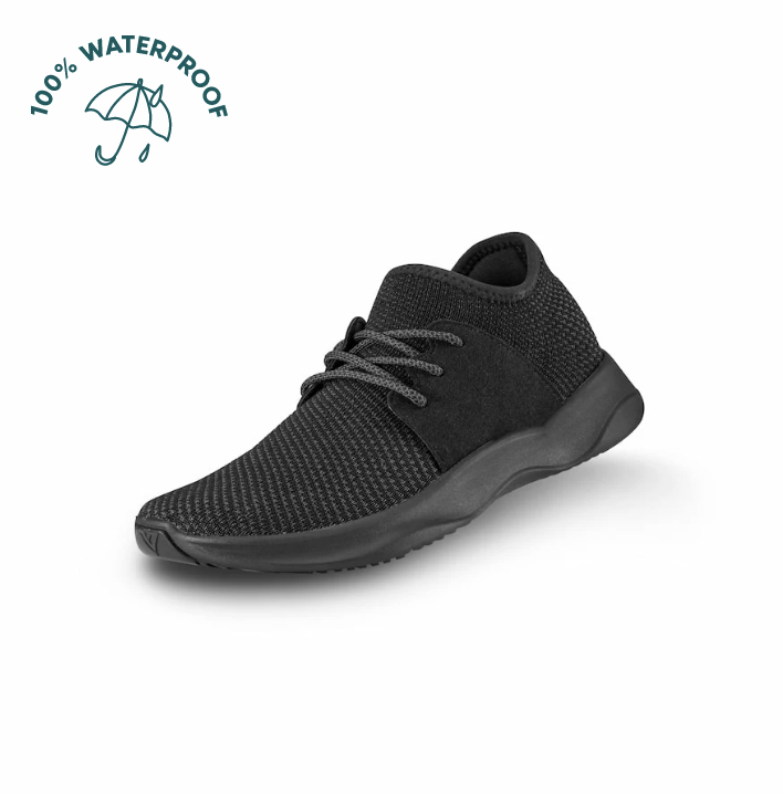All Black Vessi Everyday Sneakers