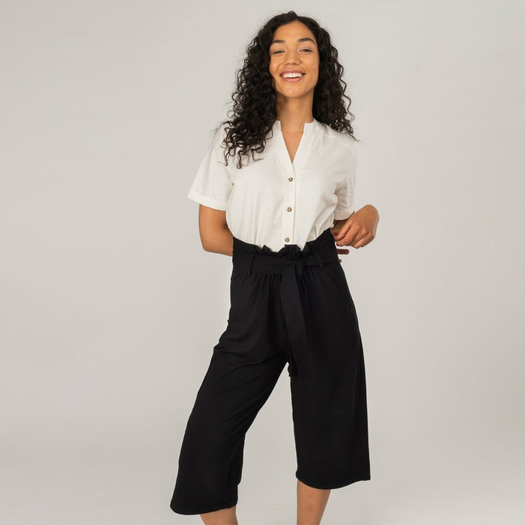 Encircled The Comfy Paperbag Culottes